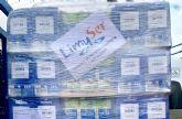 La empresa LimySer dona dos pallets de alimentos al operativo de emergencia