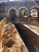 Culminan las obras de mejora de la conducción de aguas residuales del Valle de Ricote hasta la depuradora de Archena