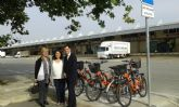 Los empleados de MercaMurcia dispondrán de bicicletas cedidas por el Ayuntamiento para desplazarse por las instalaciones