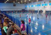 Cerca de 70 jugadores participaron en Las Torres de Cotillas en el circuito interescuelas regional de bádminton