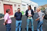 Comienzan las obras de arreglos y pavimentaci�n de trece calles del casco urbano de Archena