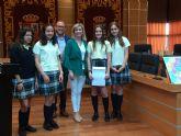Entrega de premios del Concurso para la creación de eslogan para la Campaña de Prevención de Adicciones del Ayuntamiento de Molina de Segura