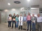 Ciudadanos promoverá la implantación de nuevas especialidades médicas en el hospital de Molina de Segura