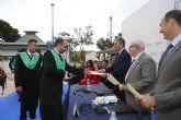 Graduada por la UCAM la primera promoción de Fisioterapia y Criminología de la historia de Cartagena