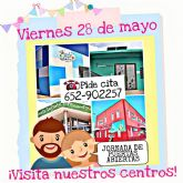 El Ayuntamiento de Puerto Lumbreras organiza una jornada de puertas abiertas para que padres y madres puedan conocer las instalaciones de las Escuelas Infantiles Municipales de cara al próximo curso
