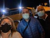 El PP de Totana participó hoy en Madrid en la manifestación en defensa del Trasvase
