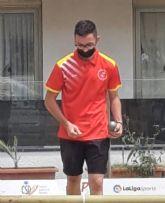 Jesús Escacho, del club La Salceda, campeón de España de petanca en modalidad de tiro