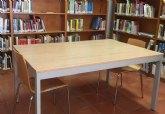 Desde hoy lunes 24 de mayo, se amplía el número de puestos de estudio y el aforo de la Biblioteca Municipal