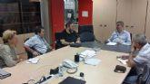 Calderón recibe a la nueva directiva del AMPA del Conservatorio de Música de Cartagena