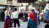 La huerta se traslada a la plaza de España
