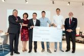 Estudiantes de Arquitectura de la UCAM, premiados en el concurso de la multinacional Steelcase