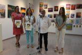 Una exposición colectiva culmina los cursos de pintura impartidos en el municipio por José Semitiel