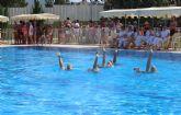 Puerto Lumbreras acoge el Campeonato de Escuelas de Natación Sincronizada Región de Murcia