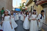 Los niños y niñas torreños, protagonistas un año más de la procesión del Corpus