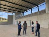 La Comunidad financia el cubrimiento de la pista polideportiva de Ricote