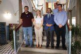 El Consejero de Presidencia Pedro Rivera visita las obras del Plan de Obras y Servicios