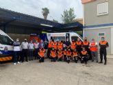 Protección Civil estrena una ambulancia y un novedoso sistema que permite la coordinación directa y eficaz con el 112