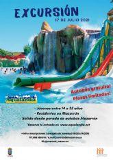 El ayuntamiento de Mazarrón proporcionará un autobús gratuito para que los jóvenes disfruten de una jornada en aqualandia
