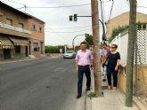 El PSOE reclama la mejora de la accesibilidad en las aceras del Camino Albadel y resolver los problemas de seguridad vial