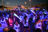 Santa Ana (Cartagena) se llenó de pintura y color con la carrera Crazy Run