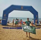 El Club Natación Ciudad de Murcia- Los Olivos tiñe de verde la costa mediterránea española