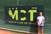 Ariana Geerlings, del Murcia Club de Tenis 1919, inicia el Campeonato de Europa sub 14 con paso firme