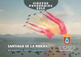 Santiago de la Ribera celebra mañana la festividad de su patrón, Santiago Apóstol 2018