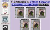 V edición del Certamen de Textos Ciezanos/Memorial Mariano Camacho 2019