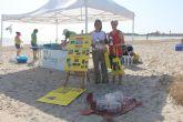 La campaña 0 por ciento plásticos en Espacios Naturales llega a San Pedro del Pinatar