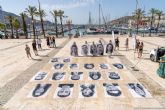 La Explanada del Puerto se llena de rostros con la exposición de La Mar de Arte ´Inside Out´