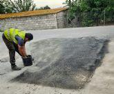 Comienzan las obras para la renovación y mejora de las calles de Las Torres de Cotillas