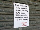 VOX Totana muestra su repulsa por la situación del municipio y exige test masivos y el control de viajeros extranjeros