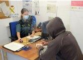 La Guardia Civil esclarece en San Javier varias simulaciones de delito