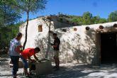 La réplica de la nueva casa argárica impulsará a partir del próximo otoño el yacimiento de La Bastida y permitirá que los visitantes del poblado comprendan mejor el estilo de vida de la Edad de Bronce