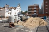 Comienzan en Mazarrón las obras de mejora de la red de saneamiento municipal