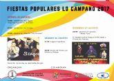 Lo Campano retoma  sus Fiestas Populares tras 12 años de letargo