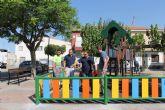Los vecinos del barrio del Sanatorio de Archena disfrutan desde hoy de una zona de juegos más segura