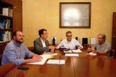 El presidente de la CHS se reúne con el alcalde de Murcia para tratar los temas que afectan al municipio