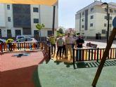 El nuevo Jardín de las Azaleas de Barriomar, un parque de 200 m2 totalmente renovado para los más pequeños, ya es una realidad
