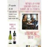 """El próximo sábado, 29 de agosto, continúa la edición estival de la iniciativa """"Música y Vino"""""""