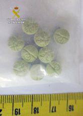 La Guardia Civil desmantela un punto de producción y venta de distintos tipos de sustancias estupefacientes