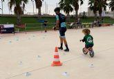 Medio centenar de participantes en la gymkana infantil de ciclismo