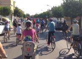 Cientos de personas participan en Las Torres de Cotillas en una jornada sobre ruedas para desarrollar valores de educación vial
