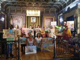 El taller de pintura de Daniel Parra re�ne en Mazarr�n a una quincena de participantes de Murcia y Alicante
