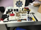 Policía Local detiene a los presuntos autores de un delito de robo y tenencia ilícita de armas