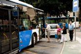 Los autobuses urbanos circularán hasta las 3 de la madrugada del jueves al sábado de Fiestas