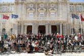 Los Romanos se suben a la bici para fomentar el deporte en Fiestas