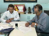 El Ayuntamiento firma convenio de colaboración con el Club de Tenis de Torre Pacheco