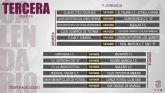 Ya se conoce el calendario del Grupo XIII de la Tercera División que esta temporada estará dividido en dos grupos de once equipos
