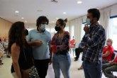 La concejala de Derechos Sociales, Estíbaliz Masegosa, elogia la labor de AFAL en el municipio